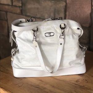 Vintage White Celine Bag